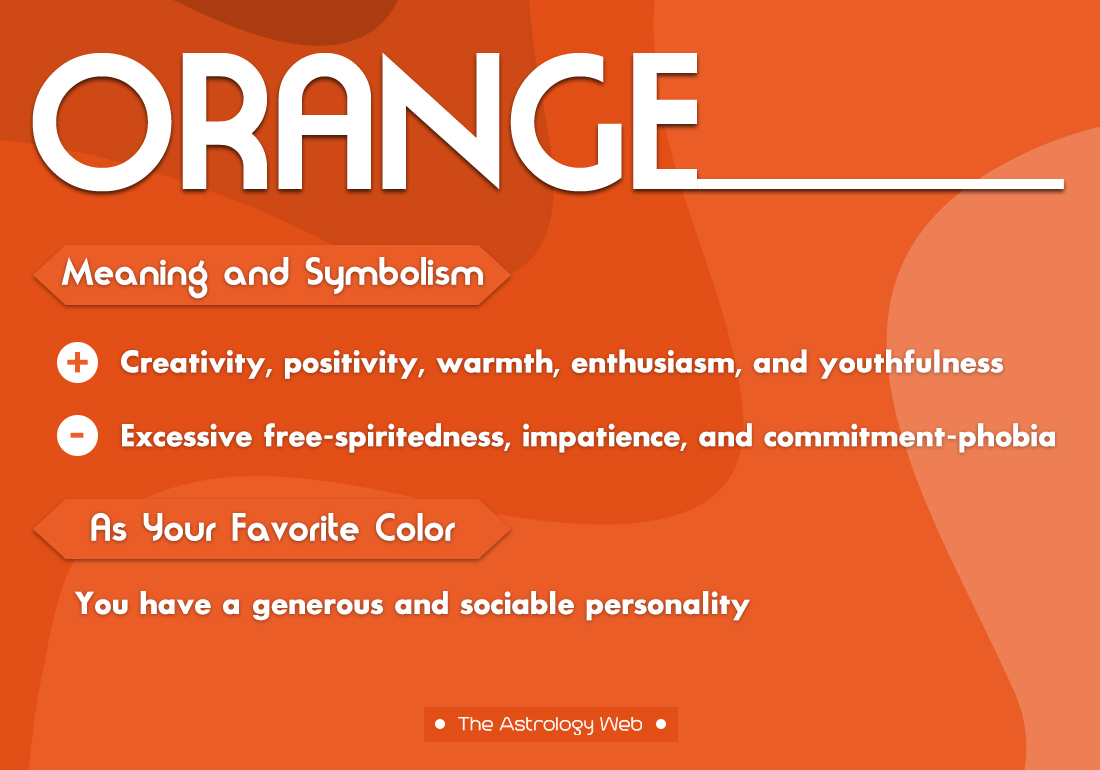 Orange Color Meaning And Symbolism