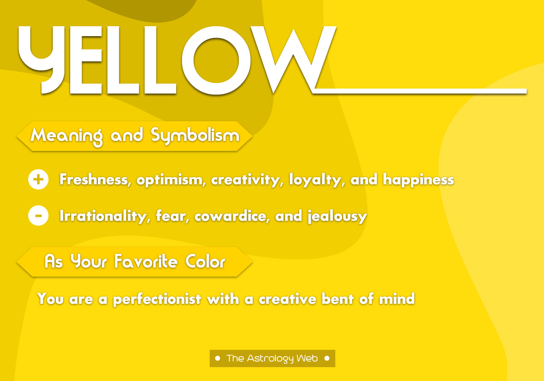 Yellow Color Meaning And Symbolism