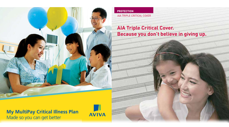 AVIVA My Multipay Critical Illness vs AIA Triple Critical ...
