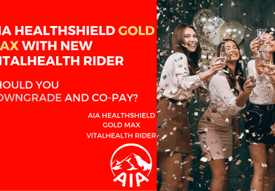 AIA Healthshield Gold Max with NEW VitalHealth rider – Should you downgrade and co-pay?
