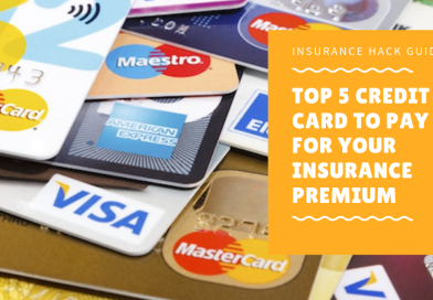 Top 5 credit card to pay for your insurance premium