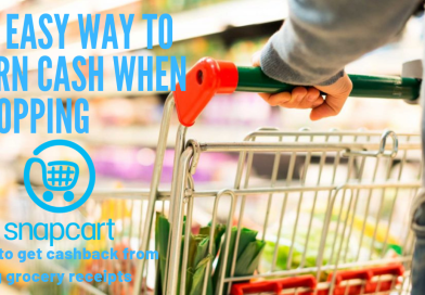 Earn Money From Grocery Receipts Using SNAPCART !!!