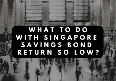 What to do with Singapore Savings Bond Return So Low?