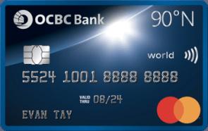 OCBC 90°N Card