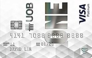 UOB One card