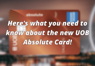 Here Is What You Need To Know About The UOB Absolute Cashback Card!