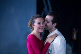 Tonya Harding und Jeff (Saskia Norman und Florian-Raphael Schwarz (2)