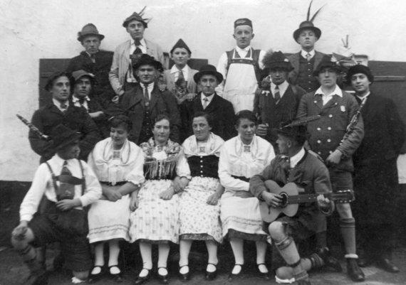 Geschichte_Theatergruppe-Klenau-Junkenhofen_1934