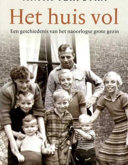 Anita Terpstra geeft lezing over boek 'Het huis vol'