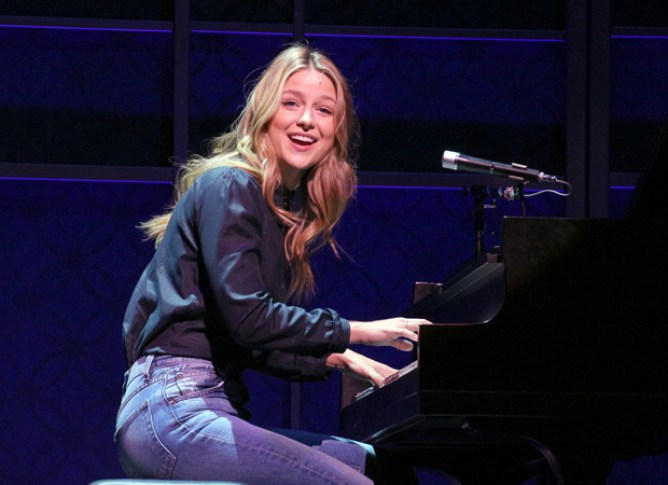 Melissa Benoist will appear in Beautiful: The Carole King Musical through August 4.