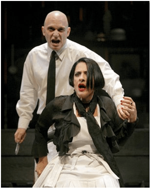 Michael Cerveris and Patti Lupone photo by Paul Kolnik