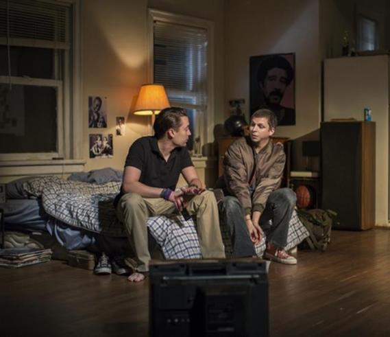 """Kieran Culkin and Michael Cera in a scene from """"This Is Our Youth"""" (Photo credit: Brigitte Lacombe)"""