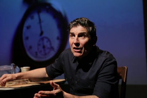 "James Lecesne in a scene from ""The Absolute Brightness of Leonard Pelkey"" (Photo credit: Peter Yesley)"