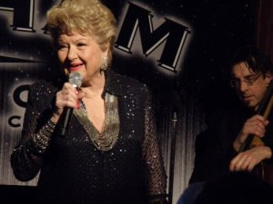Marilyn Maye as she performed at the 30th Annual Bistro Awards (Photo credit: Maryann Lopinto)