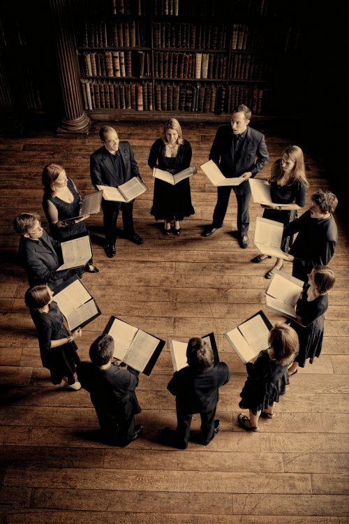 The Singers of Stile Antico (Photo credit: Marco Borggreve)