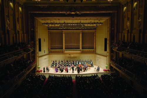 "Handel's ""Messiah"" at Boston Symphony Hall (Photo credit: John Doyle)"