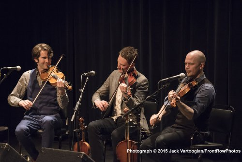Nordic Fiddlers Bloc in concert 2015 (Photo credit: Jack Vartoogian/Front Row Photos)