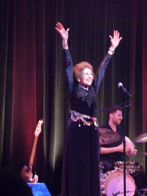 "Lorraine Serabian as she recreated ""Life Is"" from ""Zorba"" at Broadway by the Year: The Broadway Musicals of 1966 – 1990 (Photo credit: Maryann Lopinto)"