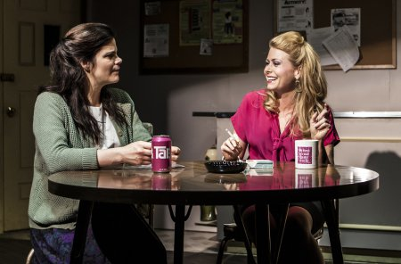 """Diane Davis and Liv Rooth in a scene from Melissa Ross' """"Nice Girl"""" (Photo credit: Monique Carboni)"""