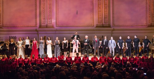 Finale of the New York Pops 32nd Birthday Gala (Photo credit: Richard Termine)