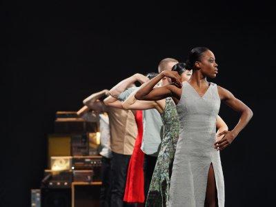 "Ebony Williams in a scene from Johan Inger's ""Rain Dogs"" (Photo credit: Jim Stott)"