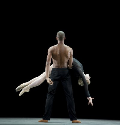 """A scene from The Royal Ballet's production of Wayne McGregor's """"Infra"""" (Photo credit: Bill Cooper)"""