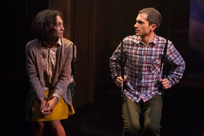 "Amelia Workman and Charles Socarides in a scene from ""How to Live on Earth"" (Photo credit: Hunter Canning)"