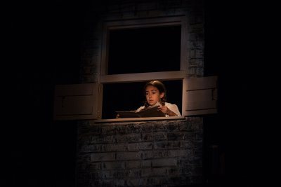 "Talia Ellie in a scene from ""The Gray Man"" (Photo credit: Suzi Sadler)"