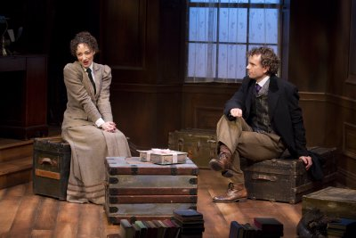 """Megan McGinnis and Paul Alexander Nolan in a scene from """"Daddy Long Legs"""" (Photo credit: Jeremy Daniel)"""