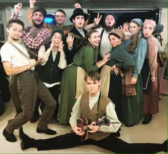 Cast members of Fiddler
