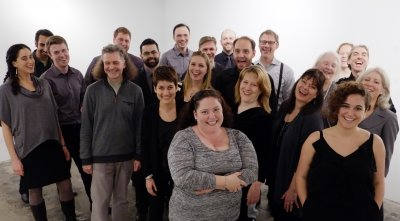 C4: The Choral Composer/Conductor Collective (Photo credit: Keith Goldstein)