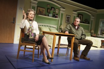 "Holland Taylor and Glenn Fitzgerald in a scene from ""Ripcord"" (Photo credit: Joan Marcus)"