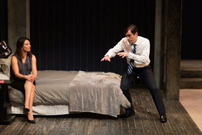 "Jolie Curtsinger and Jake Robards in a scene from ""Promising"" (Photo credit: Michael Cinquino)"