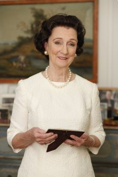 "Kathleen Chalfant plays Rose Kennedy in ""Rose"" (Photo credit: Carol Rosegg)"