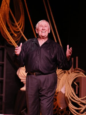 """Len Cariou as he appears in """"Broadway and the Bard"""" (Photo credit: Carol Rosegg)"""