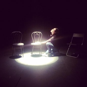 "Patrick Brian Scherrer in a scene from ""One Way to Pluto!"" (Photo credit: Amanda Martin)"