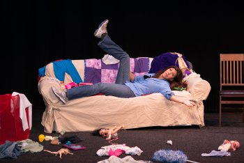 "Dena Blizzard in ""One Funny Mother"" (Photo credit: Donna Spagna Photography)"
