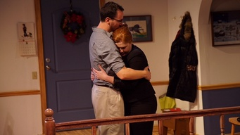 "Kevin Argus and Jody Christopherson in a scene from ""Primary"" (Photo credit: PJ Norton)"