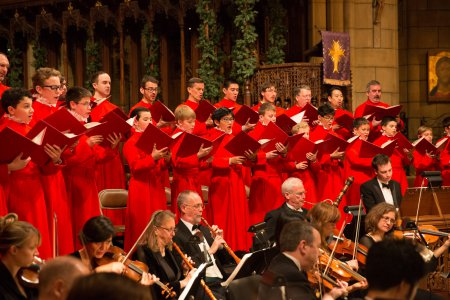 The Saint Thomas Choir of Men and Boys with Concert Royal (Photo credit: Courtesy of Saint Thomas Church)
