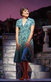 "Karen Ziemba as Fioria in a scene from ""Do I Hear a Waltz?"" (Photo credit: Joan Marcus)"