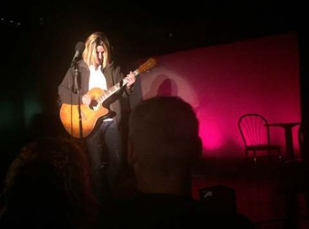 """Jesse Dwayne Wells as Kurt Cobain in a scene from """"The Lost Ones: A New Musical"""" (Photo credit: Michael Sadowitz)"""