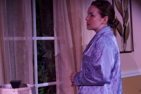 "Jenny Boote in a scene from ""A Man Like You"" (Photo credit: RED Soil Productions)"