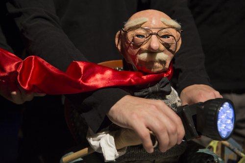 "Puppet from ""Blossom"" designed by Spencer Lott (Photo credit: Maria Baranova)"