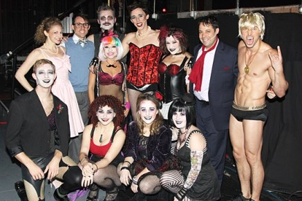 #2. The Rocky Horror Show cast