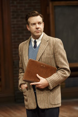 "Jason Sudeikis in a scene from ""Dead Poets Society"" (Photo credit: Joan Marcus)"