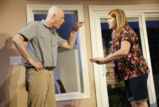"Mark Blum and Mare Winningham in a scene from ""Rancho Viejo"" (Photo credit: Joan Marcus)"