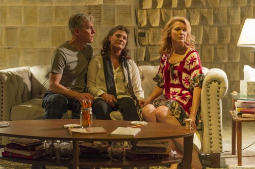 """Steven Hauck, Elizabeth Rich and Amy Bodnar in a scene from """"What We Wanted"""" (Photo credit: Jacob J. Goldberg)"""