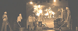 Im amerikanischen Stahlwerk