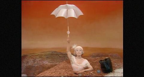 """""""Oh les beaux jours"""" de Samuel Beckett, mise en scène de Roger Blin"""