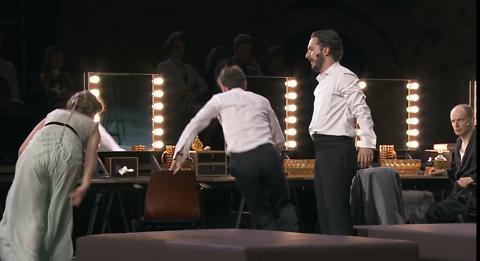 """Les Damnés"" mise en scène de Ivo van Hove"